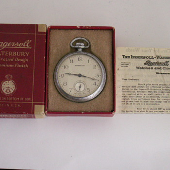Ingersoll - Waterbury Co.  - Pocket Watches