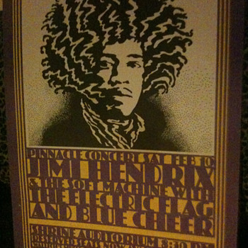 Jimi Hendrix Retro Poster - Posters and Prints