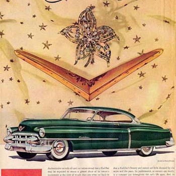 "Harry Winston and Fashion Ads For Cadillac / The ""Madmen"" Era: Advertising Mid-Century Luxury - Advertising"