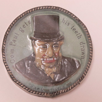 Boer War President Paul Kruger Dexterity Game Toy