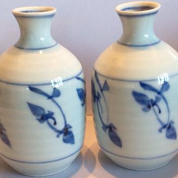 Vintage japanese jugs