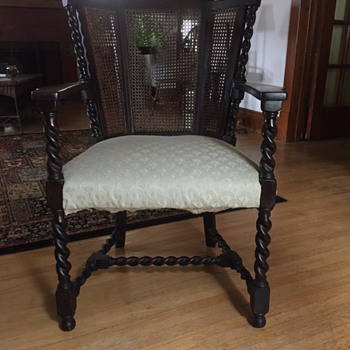 Chair (from early 20th Century?) - Furniture