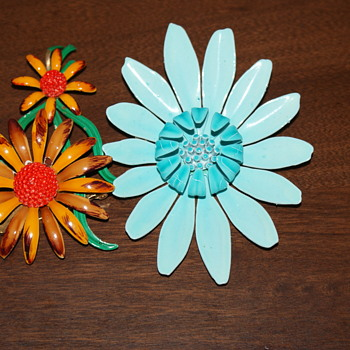 Enamel Flowers - Just for Fun