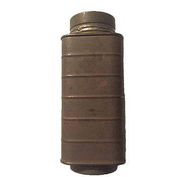 WORLD WAR I TIN CANTEEN? - DOUBLE SIDED