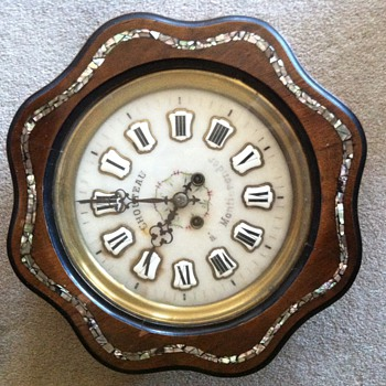 My mystery clock...
