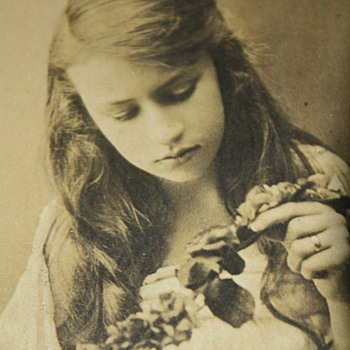 Sepia-toned photo of young woman (by F. Adams Photographic Artist) - Photographs