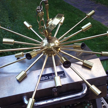 small sputnik chandelier