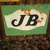 J B sign