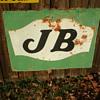 J B sign