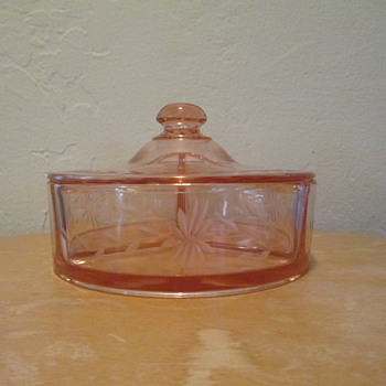 Pattern Glass dresser ware