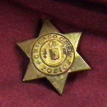 1940's-1950's Chicago Police Miniature Lapel Pin