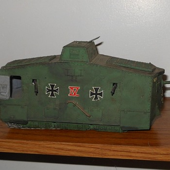 German A7V Tank WWI Tank Model