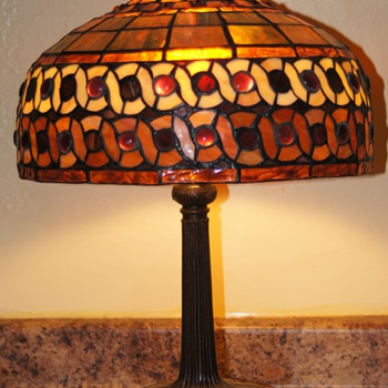Stained Glass Lamp - Lamps