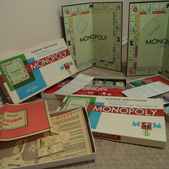 Vintage 1961 Monopoly Game -Canadian version