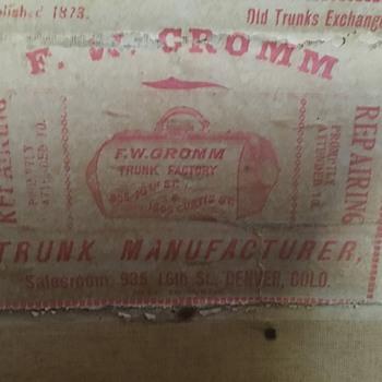 Trunk F.W. Gromm