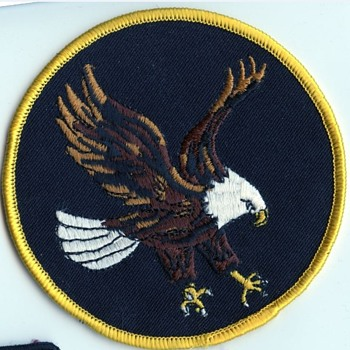 unknown large patch with eagle