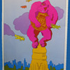 Early 1970's Quaker Oats Girl Scout Cookies Poster