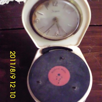 Clock/Record player