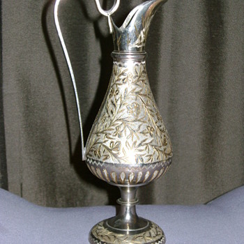 Antique Pitcher made in India - Sterling Silver
