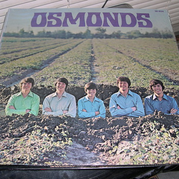 THE OSMONDS SEALED SELF TITLED ALBUM MGM 4724 - Records