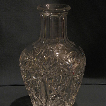 H.P. Sinclair ABP signed carafe - Glassware