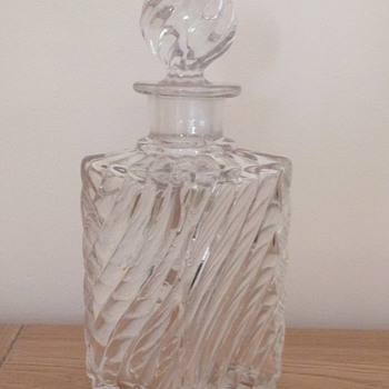classical perfume bottle by Baccarat