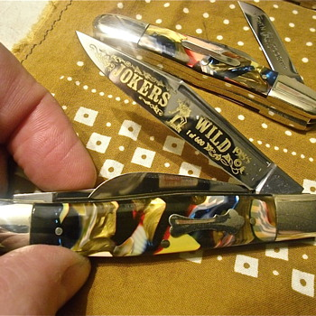 Fight'n Rooster End Of Day Pocketknives - Tools and Hardware