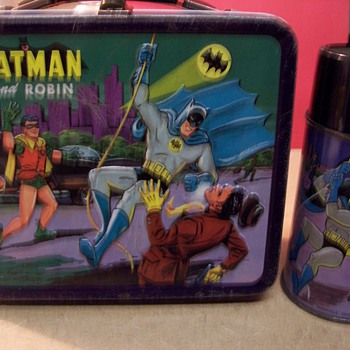 1960&#039;s Metal Batman Lunchbox - Kitchen