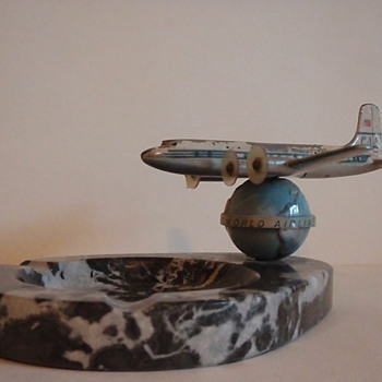 Pan Am Airplane Ashtray