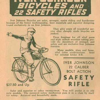 1932 Iver Johnson Advertisement - Advertising