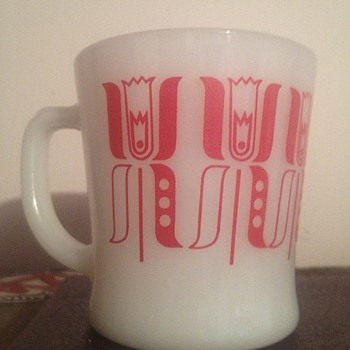 Rare Fire King Mug ~ Prototype?