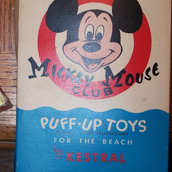 kestral mickey mouse club puff up toy - Games