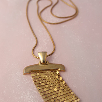 Brass Art Deco Pendant