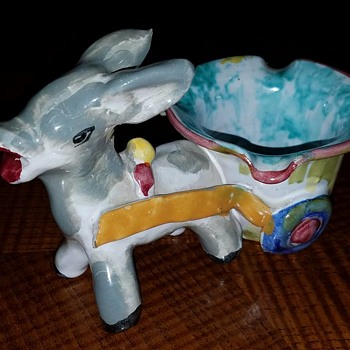 Donkey & Cart - Pottery