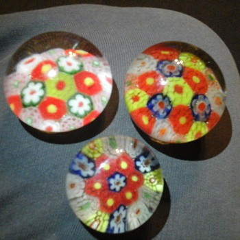 MILLEFIORI  - Art Glass