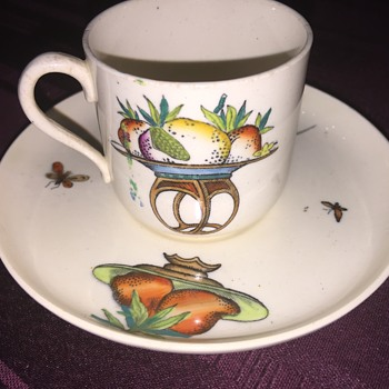 Early Copeland cup and saucer - China and Dinnerware