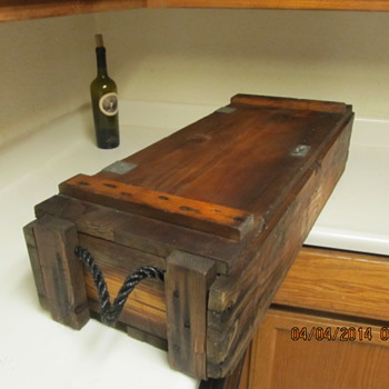 Vintage Ammo Crate/Trunk - Furniture