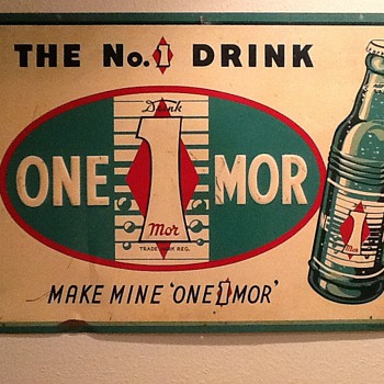One Mor Soda Sign - Signs