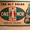 One Mor Soda Sign