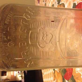 Old Mr Boston Glass bottle unopened