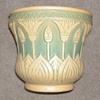 Art pottery tulip jardiniere