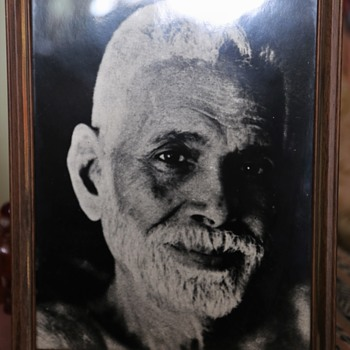 Ramana Maharshi Image which was on the wall in Issan Dorsey's room at the Hartford Street Zen Center - Photographs