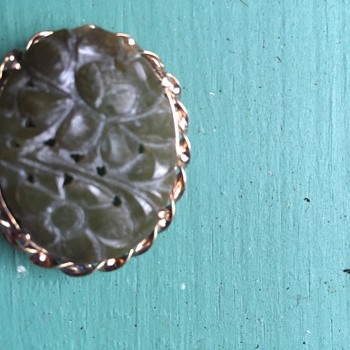 Brooch which was probably bought in the 1940s