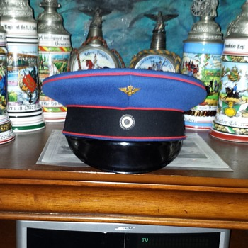 Prussian visor cap of a high official of the Prussian State Railway - Military and Wartime