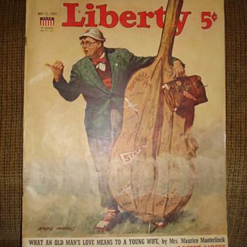 1941 LIBERTY MAGAZINE - Paper