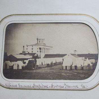 Union hospital at Fortress Monroe, Va.