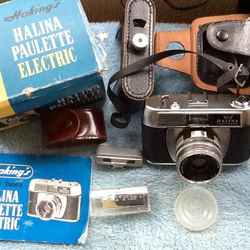 1966-my first 35 mm camera-halina paulette electric. - Cameras