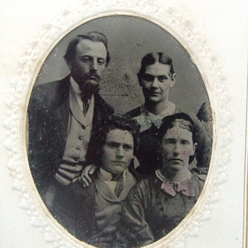 Nice group shot tintype  - Photographs