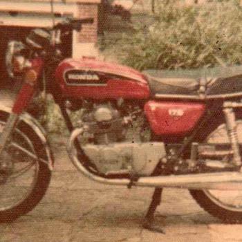 1972 - Honda CB175cc Motorcycle