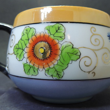 Teacup Colorful Flower Design - Help!?